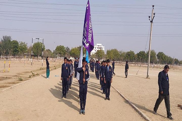 Vivek Techno School-Sports Day