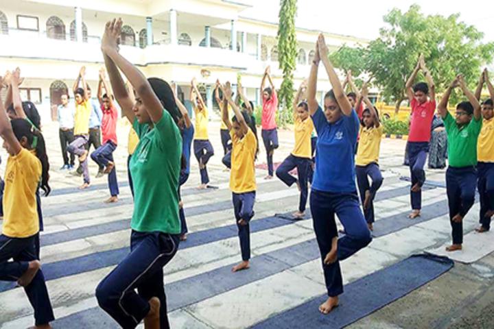 Vrindavan Public School-Yoga