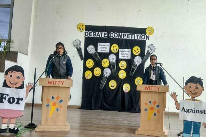 Witty International School-Debate Competition