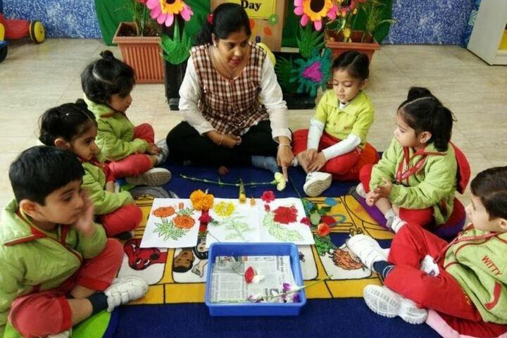 Witty International School-Flower Day