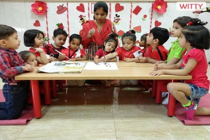 Witty International School-Red Day