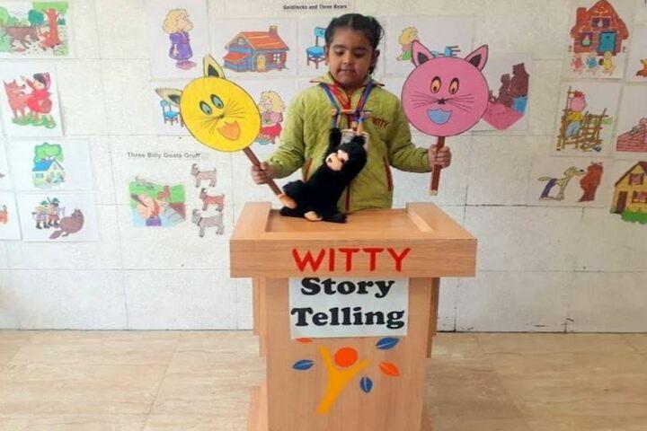 Witty International School-Story Telling Activity