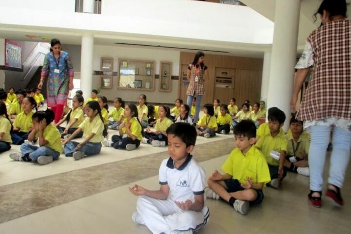 Witty International School-Yoga Day
