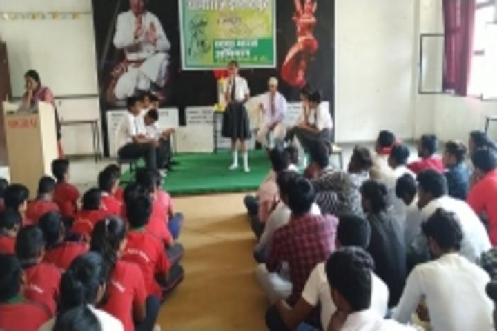 Yogiraj Public School-Gandhi Jayanti Celebrations