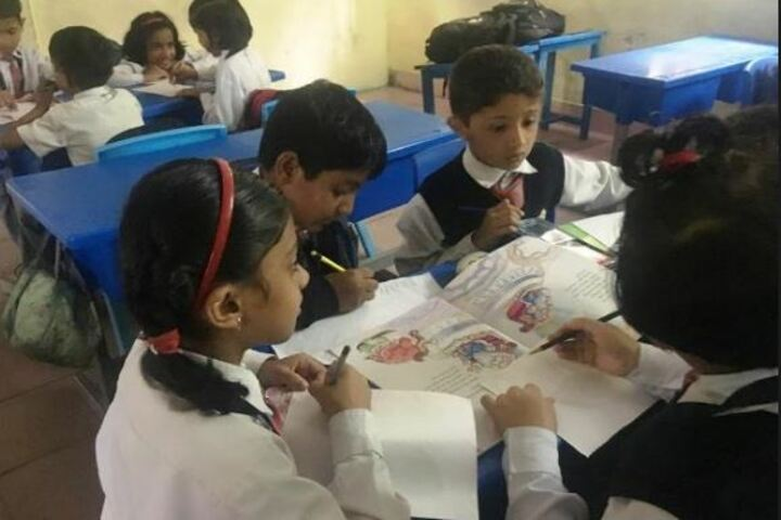 Army Public School-Library Week Activity