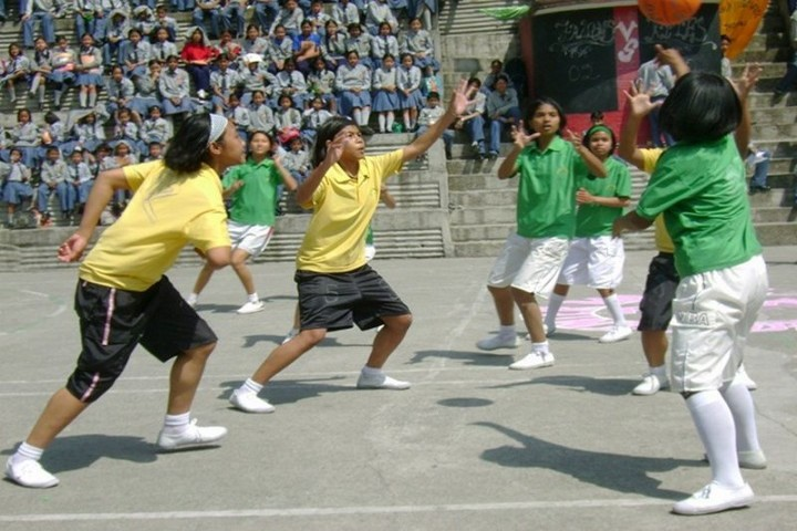 Bahai School Tadong-Basket Ball