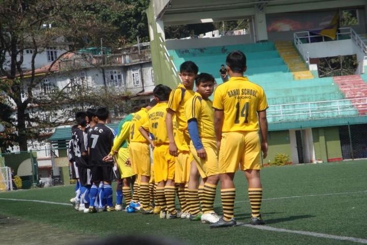 Bahai School Tadong-Foot Ball