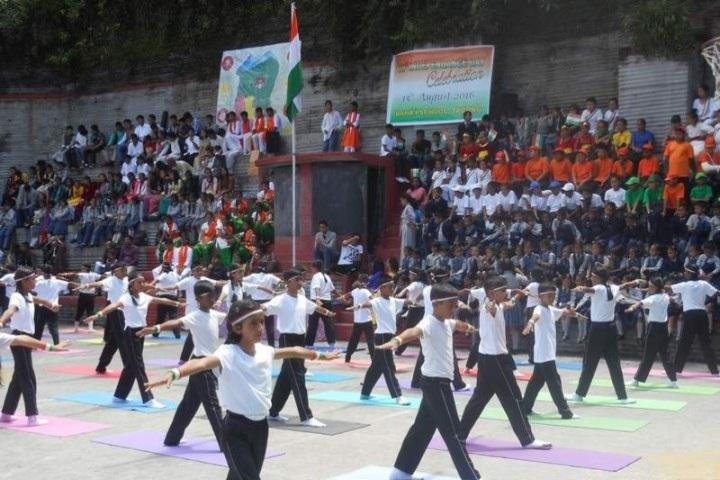 Bahai School Tadong-International Yoga Day