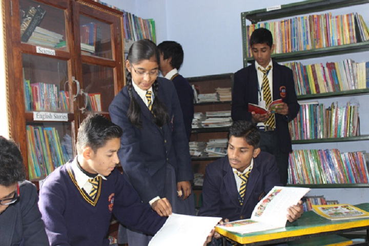 Montfort Senior Secondary School-Library