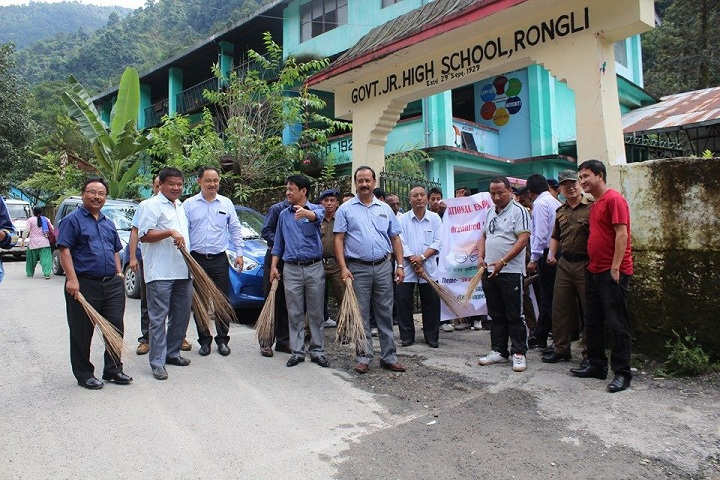 Government Secondary School-Swacch Bharat