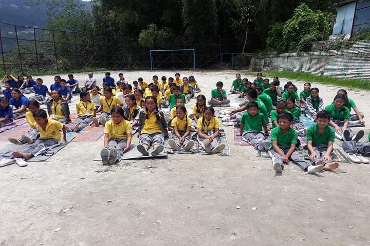 Government Senior Secondary School-Yoga Day