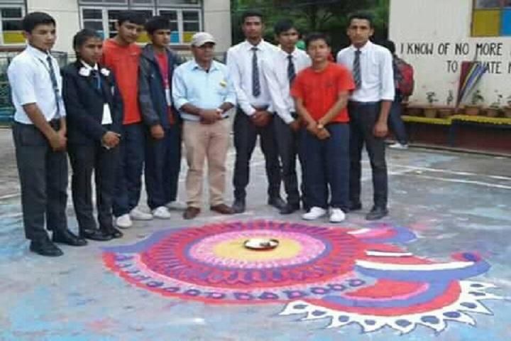 Government Senior Secondary School-Rangoli