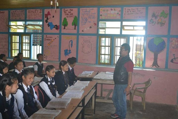 Government Secondary School-Classroom