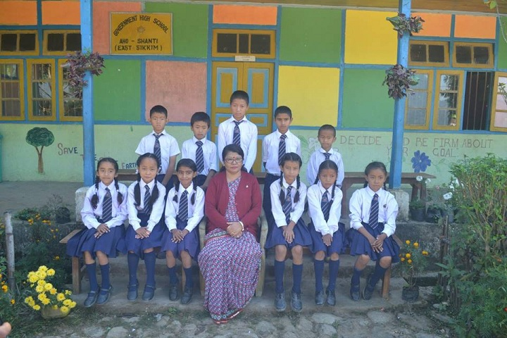 Government Secondary School-Group Photo