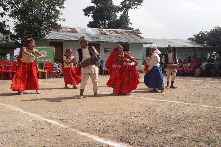 Government secondary school - traditional dance