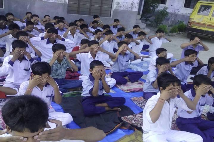 Mother Teresa Vidyapeeth-Yoga Day