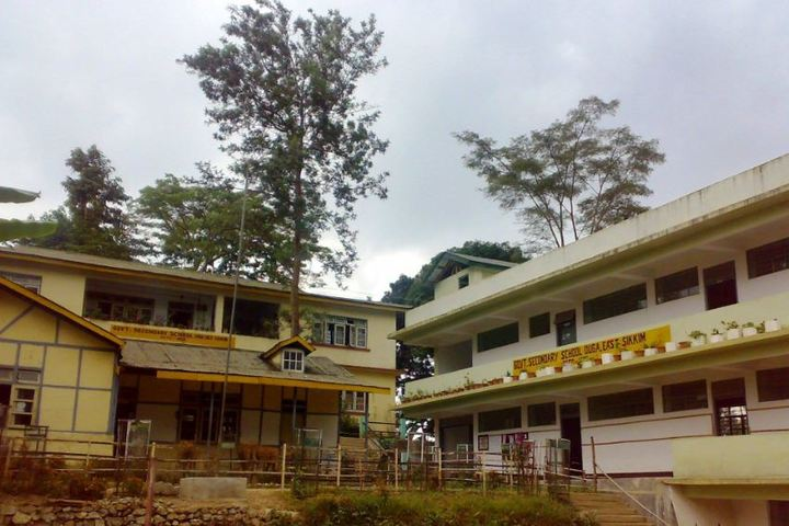 Government Secondary School-Campus view