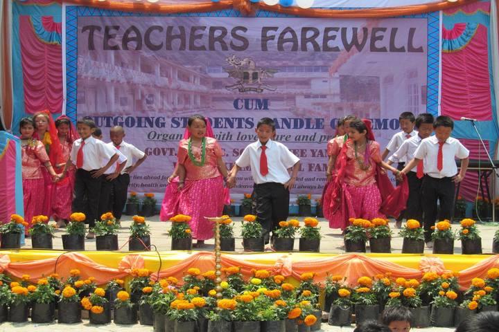 Government Senior Secondary School-Dances