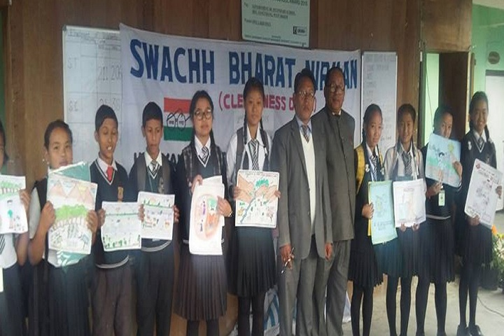 Government Senior Secondary School-Painting competitions winner
