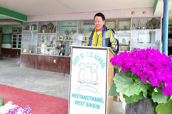 Government Senior Secondary School-Speech