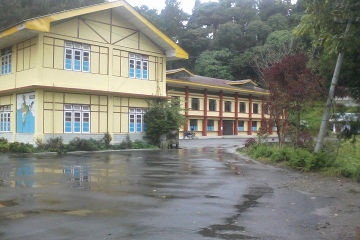 Government Senior Secondary School-School building