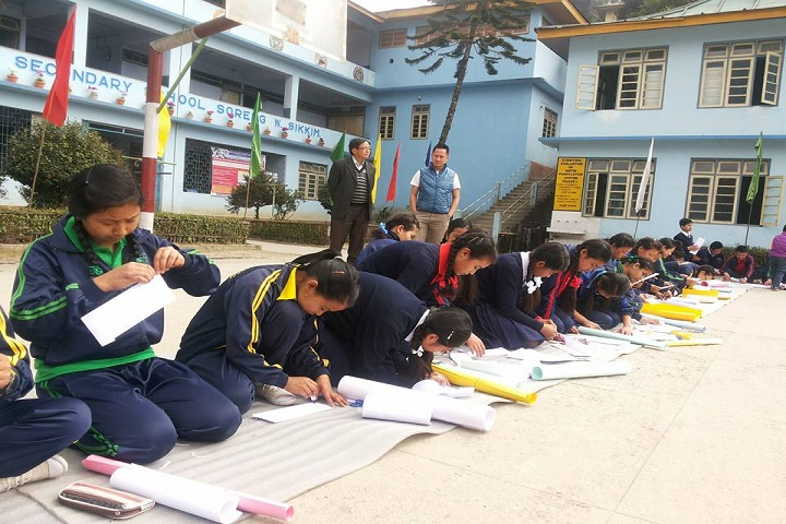 Government Senior Secondary School-Drawing Competitions