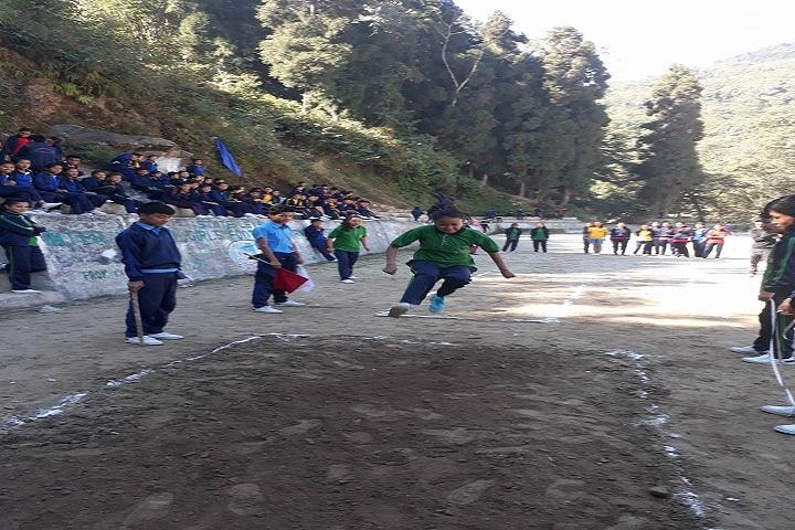 Government Senior Secondary School-Long Jump
