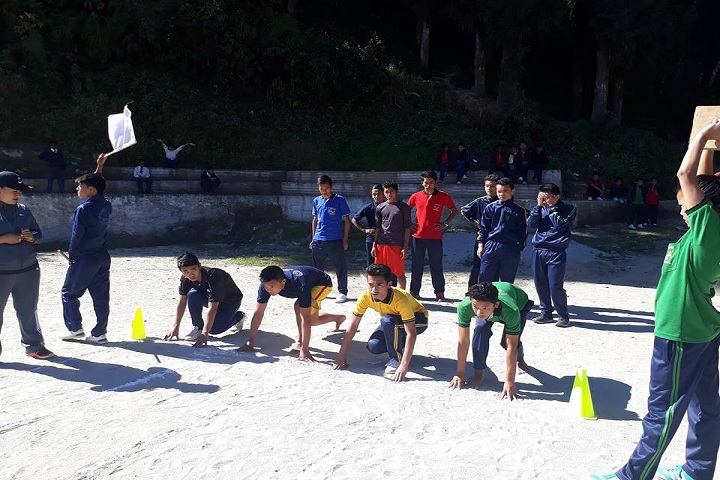 Government Senior Secondary School-Running Competition