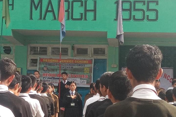 Government Senior Secondary School-Prayer