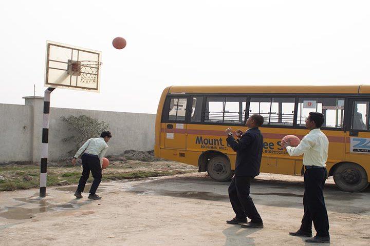 Mount Litera Zee School- Basket Ball