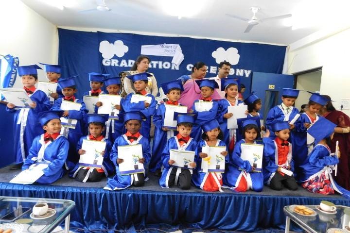 Mount Litera Zee School- Graduation Ceremoney