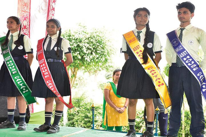 Mount Litera Zee School- Investiture Ceremoney