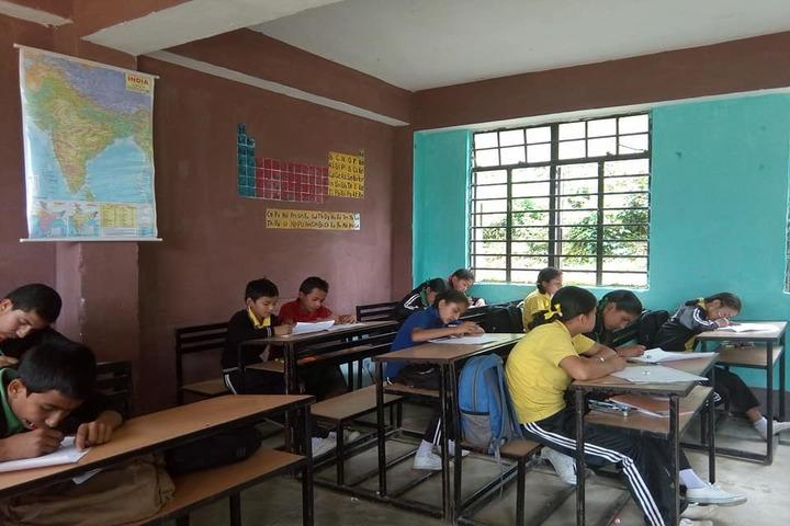 Government Secondary School-Exam room