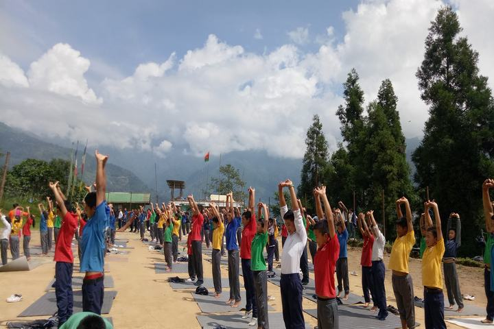 Government Secondary School-Yoga