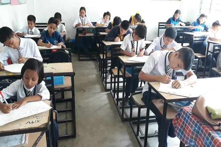 Government Secondary School-Exam Hall