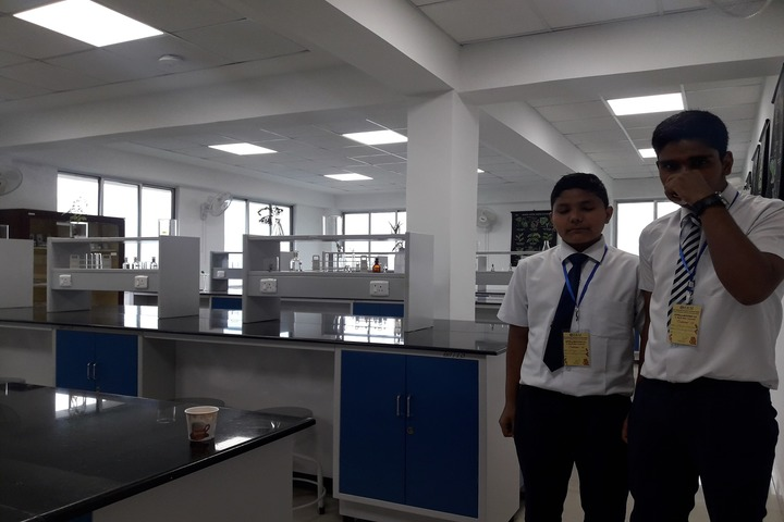 Government Secondary School-Chemistry Lab