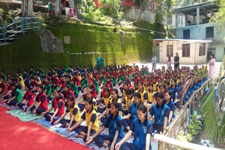 Government Secondary School-Yoga