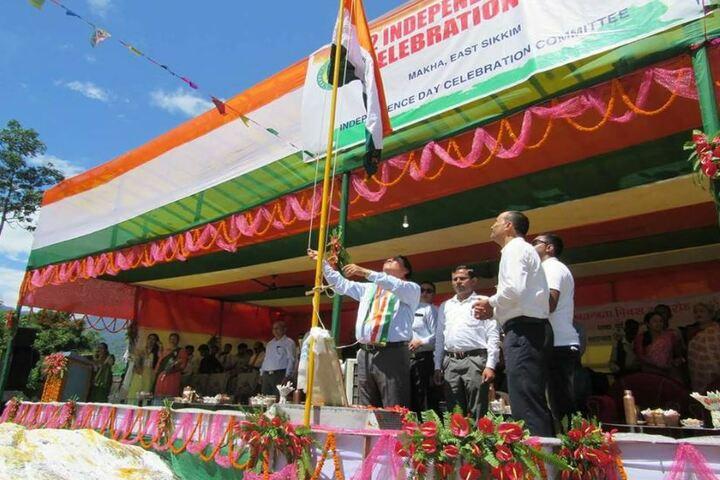 Government Senior Secondary School-National day celebration