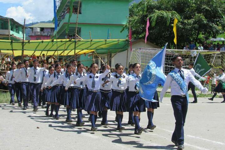 Government Senior Secondary School-Sports Meeting