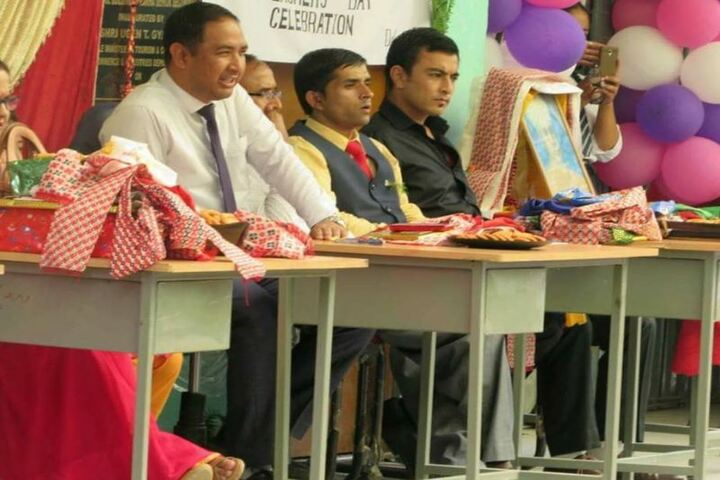 Government Senior Secondary School-Teachers day celebration