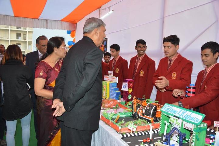 Nalanda Heritage School-Science Exhibition