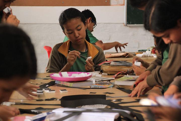 Manjusri Public School-Art And Craft