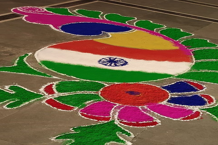 Nalanda Vidya Mandir-Rangoli Competition