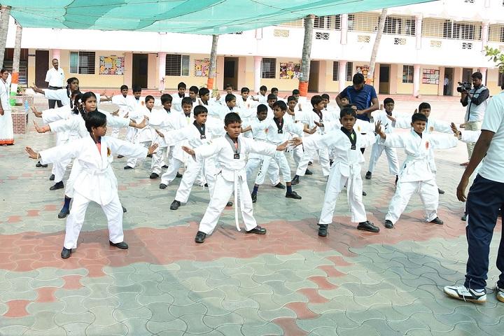 A K T Memorial Vidya Saaket School-Karate