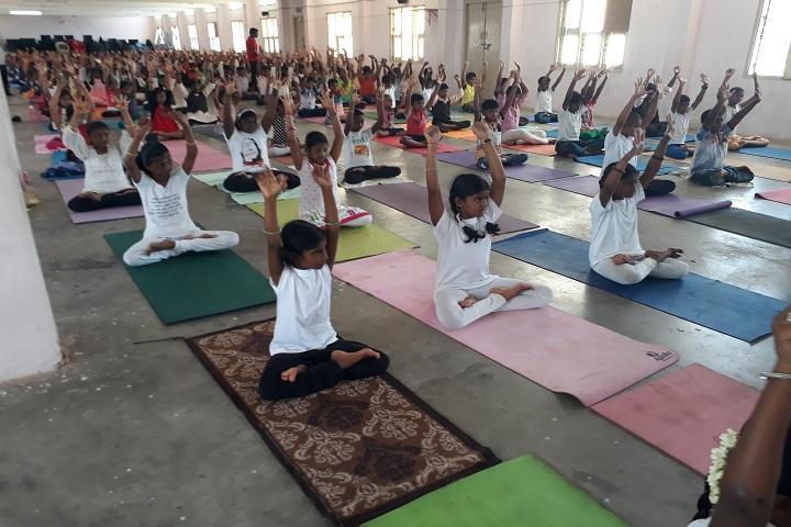 A K T Memorial Vidya Saaket School-Yoga