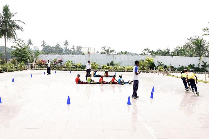 A K T Memorial Vidya Saaket School-Skating