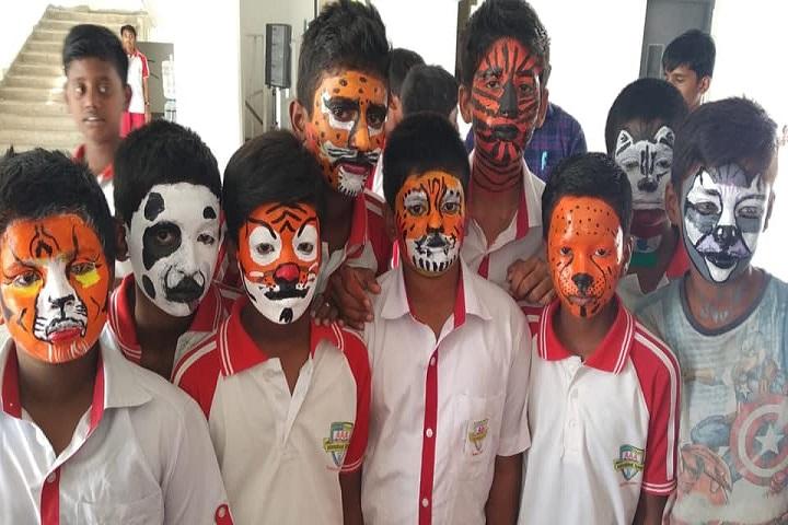 Aaa International School-Face Painting