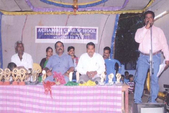 Achariya School-Annual day