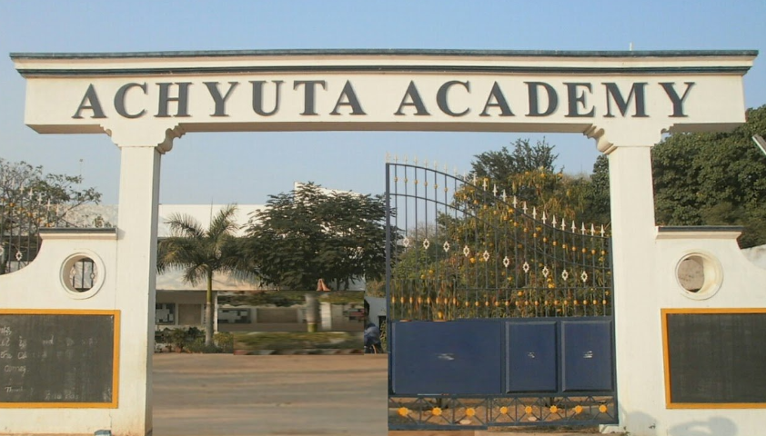 Achyuta Academy School - Main Entry Gate