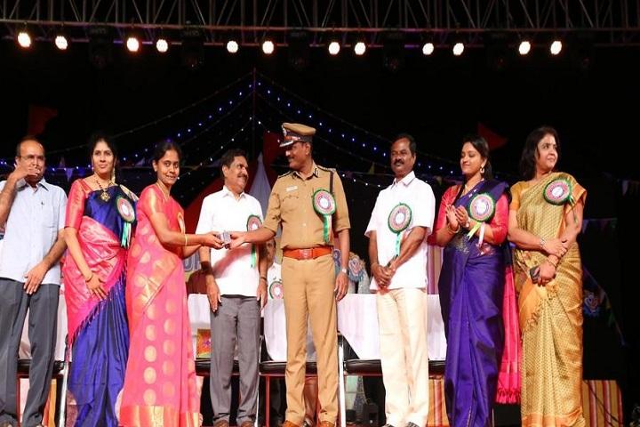 Adharsh Vidhyalaya Public School-Felicitation